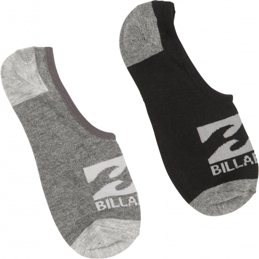 Billabong ponožky invisible 2 Pack