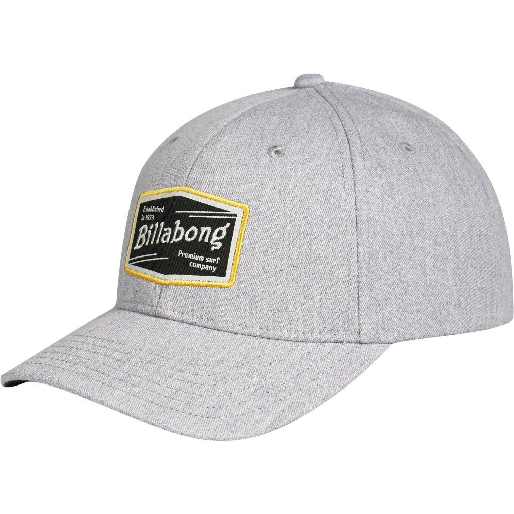 Billabong kšiltovka Walled Snapback grey heather 18/19