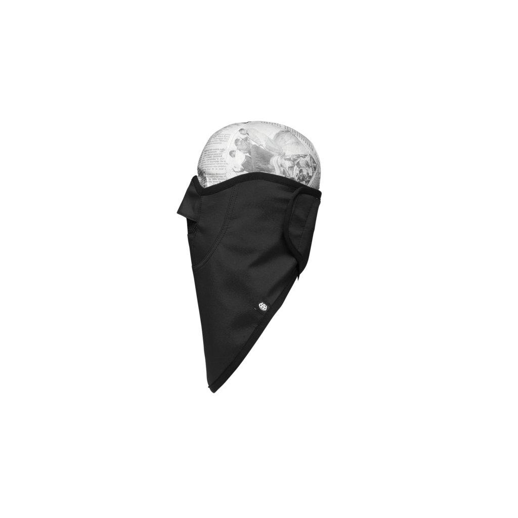 686 technická maska Strap Face Mask black  + doručení do 24 hod.