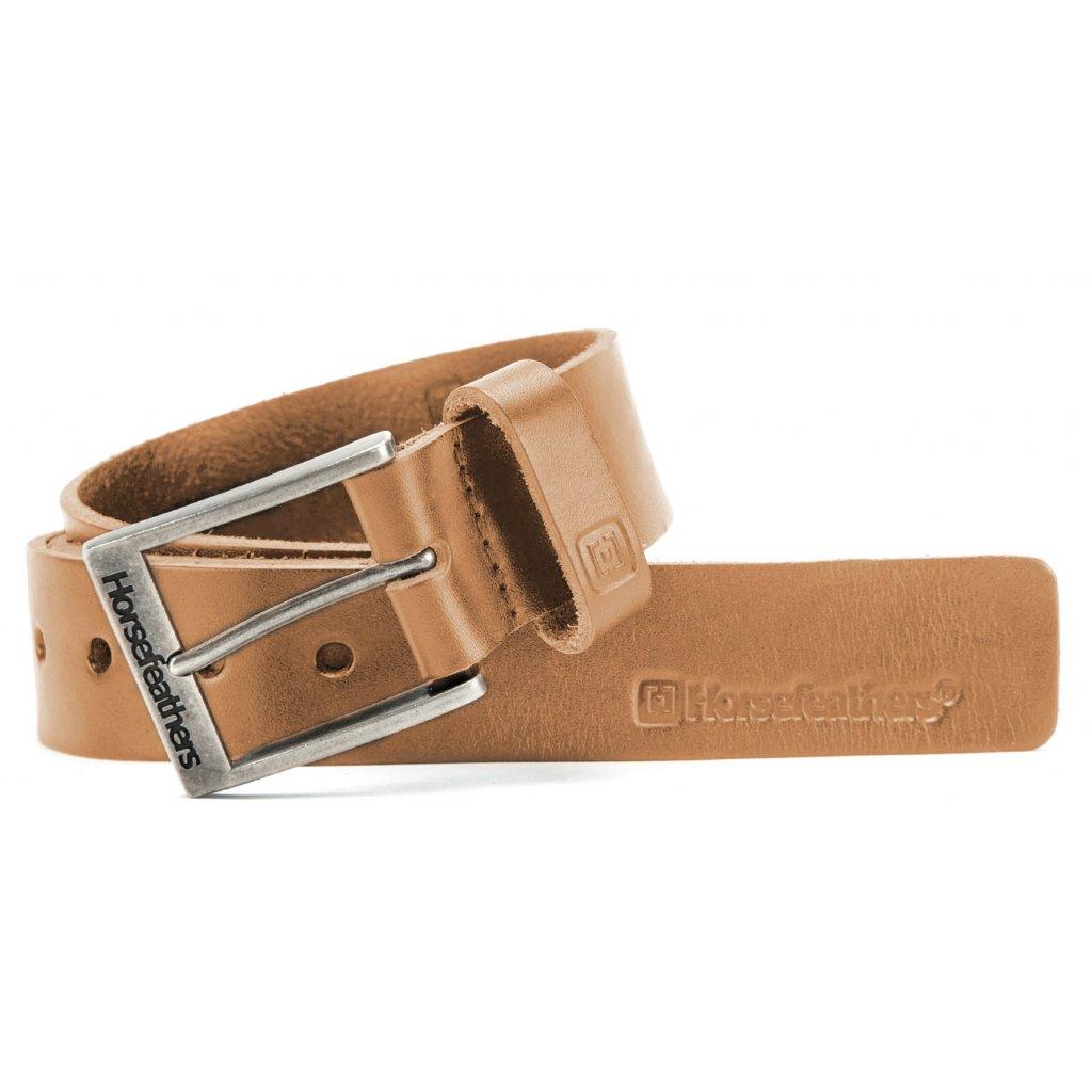 Horsefeathers pásek Duke belt Tobacco 18/19