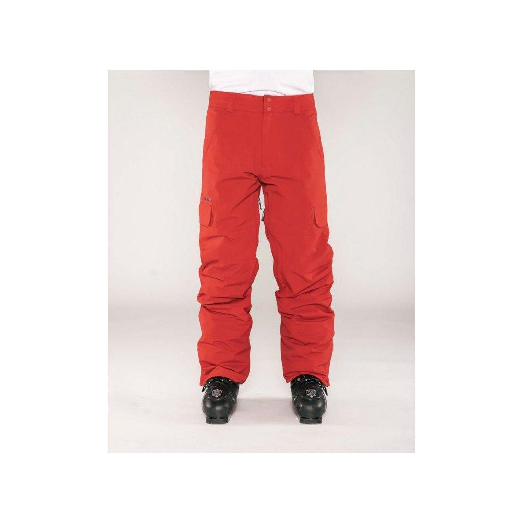 Armada kalhoty Union insulated pant red chili 18/19