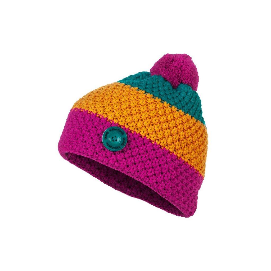 Gravity zimní čepice Donna pink