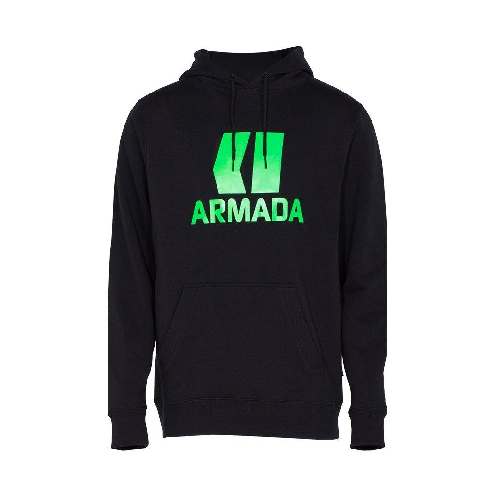 Armada mikina Classic Pullover black green  + doručení do 24 hod.
