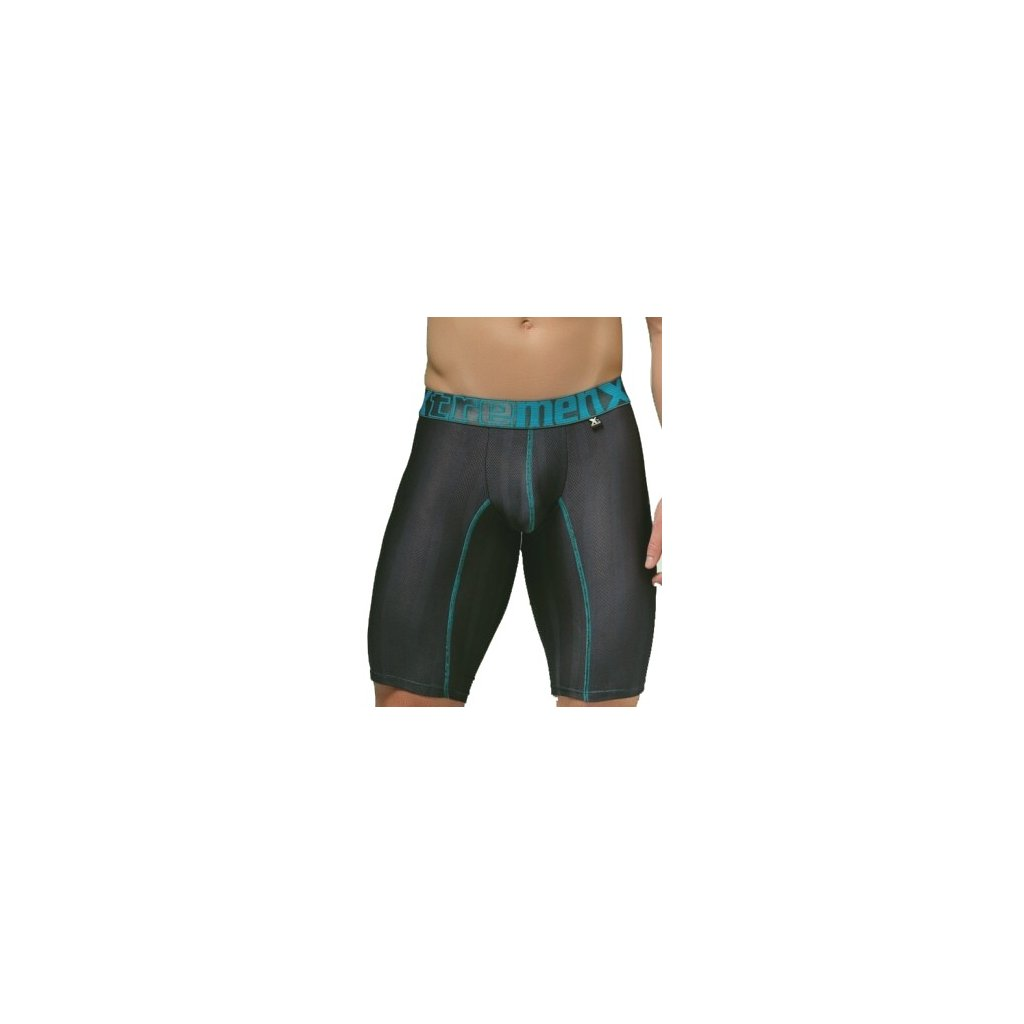 Pánské boxerky Xtremen Sports Boxer Perforated Dark Gray
