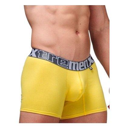 Pánské boxerky Xtremen Short Boxer Yellow