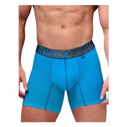 Pánské boxerky Xtremen Sports Boxer Perforated Mesh Tirquoise
