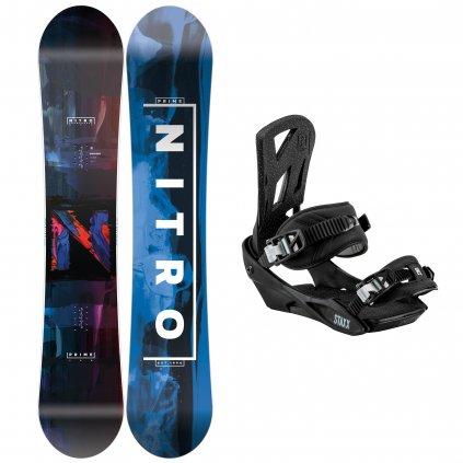 snowboard komplet pansky nitro Prime Overlay staxx pepper exilshop olomouc
