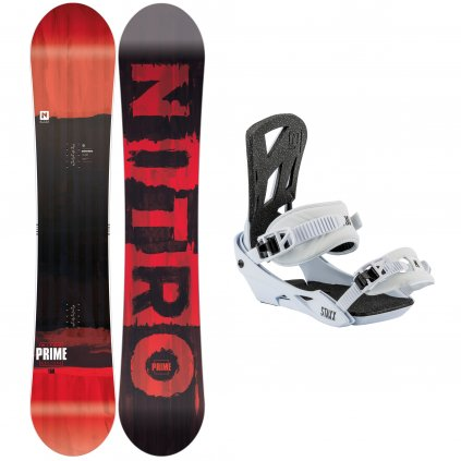 snowboard komplet pansky nitro Prime Screen staxx salt exilshop olomouc