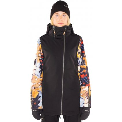 Helena Insulated Jacket Black 000 low