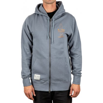 Nitro mikina Icon Zip Stone grey 19/20