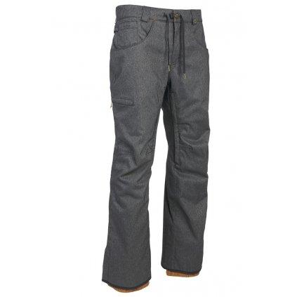 686 kalhoty Stretch Rebel Shell Pant Black Denim 19/20
