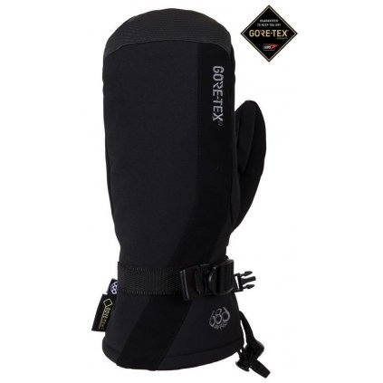 686 damske zimni rukavice linear mitt gore tex glove black 19 20