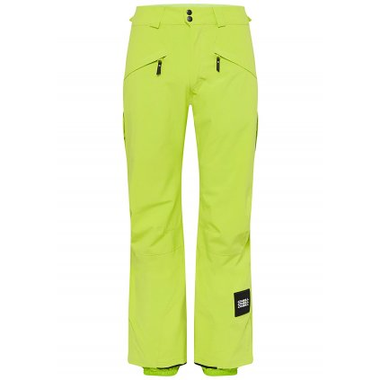 o neill kalhoty na snowboard quartzite pants lime punch 19 20