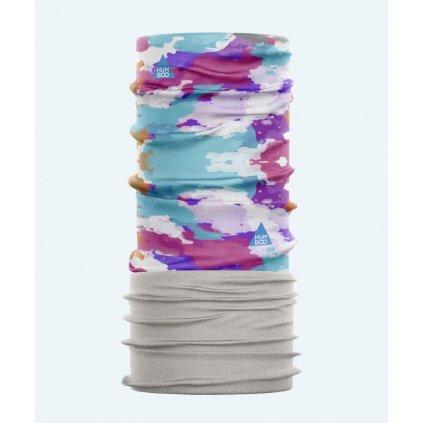 Multifunctional neck warmer aquarelle humboo exilshop nakrcnik