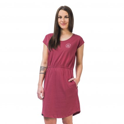 horsefeathers saty millie dress Garnet Rose 20 21