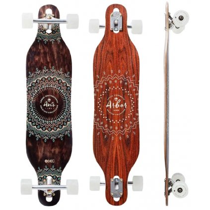longboard arbor axis 37 solstice collection