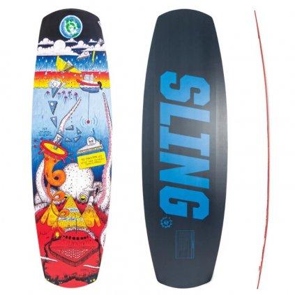 wakeboard slingshot coalition 2020 exilshop olomouc