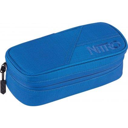 Nitro penál Pencil Case blur brilliant blue