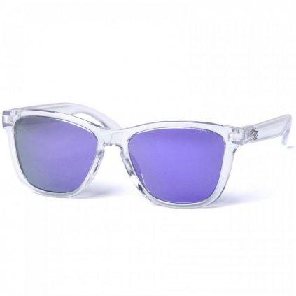pitcha pussyna sunglasses clear purple