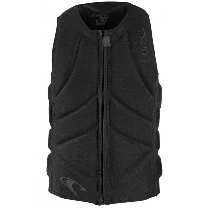 vesta o neill slasher comp vest acid wash black