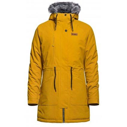 horsefeathers damska zimni bunda suzanne golden yellow 20 21 exilshop
