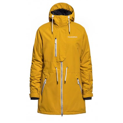 horsefeathers damska zimni bunda kassia jacket golden yellow 20 21