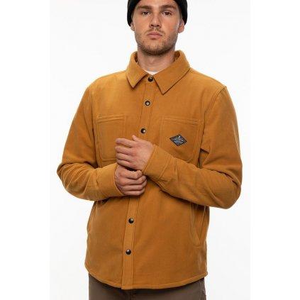 686 kosile sierra fleece flannel Golden Brown 20 21