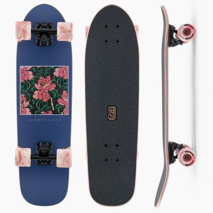 landyachtz dinghy hibiscus 28 5 longboard 21 22 exilshop olomouc