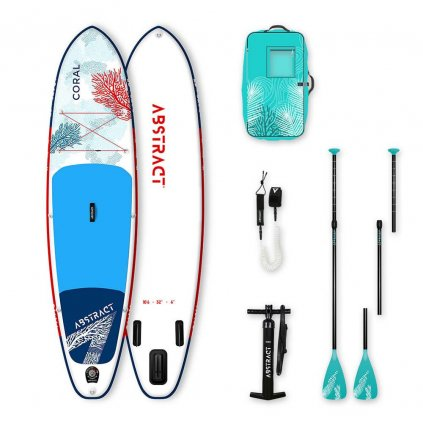 abstract paddleboard coral 10 6 32 exilshop olomouc