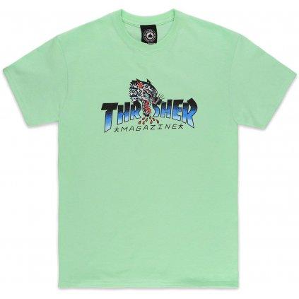 Thrasher triko Leopard Mind Holiday  + doručení do 24 hod.