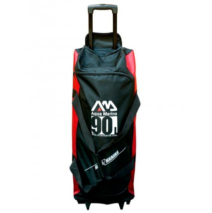 aqua marina batoh na paddleboard s kolecky red 90l