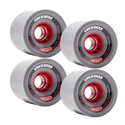 Hawgs kolečka Biggie 73mm 76a wheels 4ks  + 15% sleva při registraci