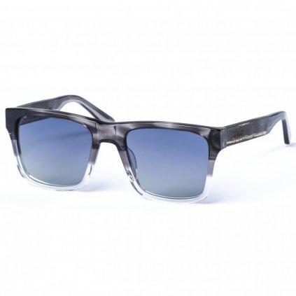 pitcha maasai iv sunglasses black smoke grey black zebra