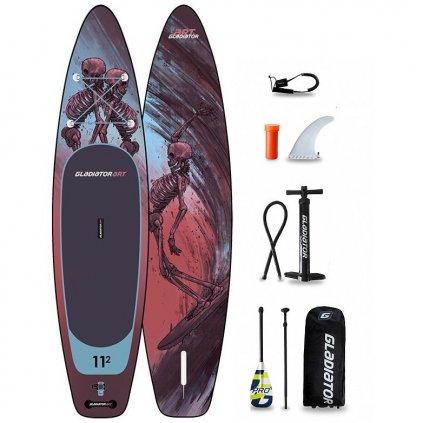 gladiator paddleboard pro art ride 11 2 31