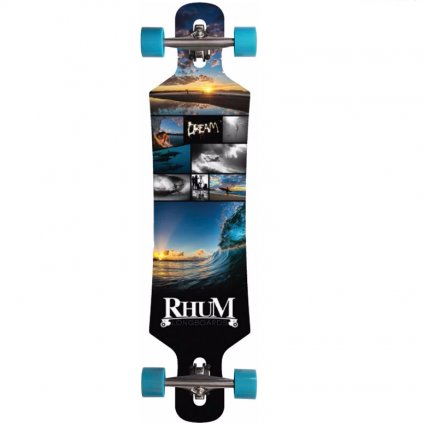 "Rhum Aruba Drop-Thru 39"" Dream longboard  + doprava zdarma"