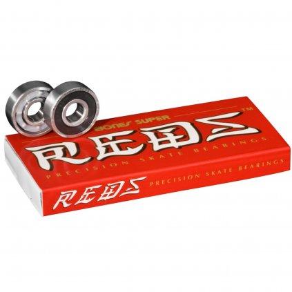 Ložiska Bones Super Reds 8 ks  + doručení do 24 hod.