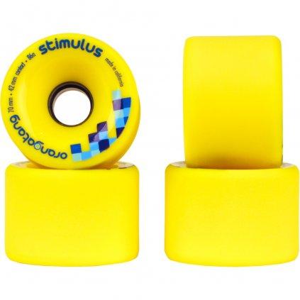 Orangatang kolečka Stimulus 70mm/86a wheels 4ks  + 15% sleva při registraci