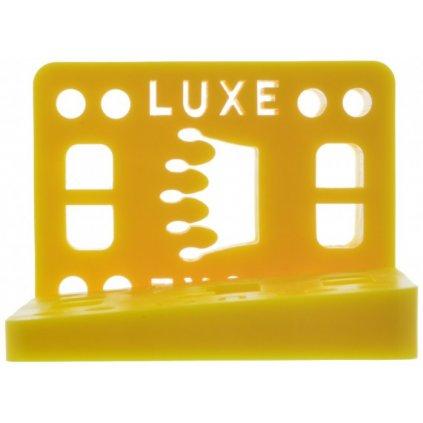 "Luxe podložky na longboard úhlované Wedge Riser Yellow 1/2"" 2ks"