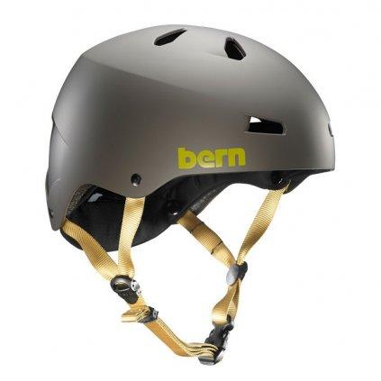 Bern helma Macon matte charcoal grey