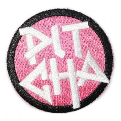 nasivka pitcha logo team patch 6cm