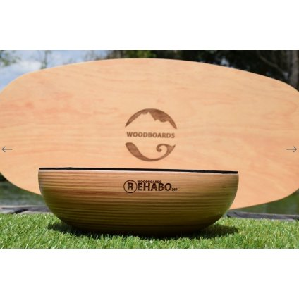 Woodboards REHABO 360 KOMPLET Indo Board