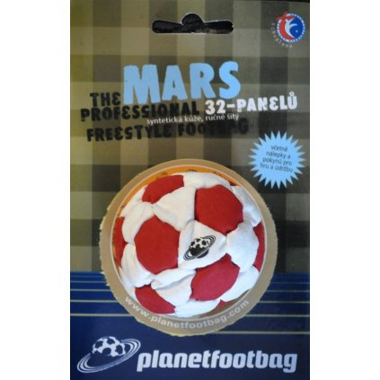 Footbag Mars red hakisak