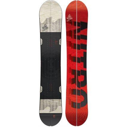 nitro splitboard nomad 165