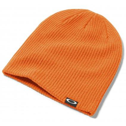 Oakley zimní čepice Backbone Beanie Neon Orange 17/18