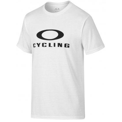 Oakley triko O-Cycling tee White