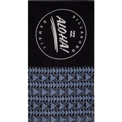 Billabong plážová osuška Aloha Towel black 18/19