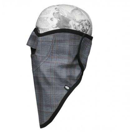 686 technická maska Strap Face Mask grey hunter plaid  + doručení do 24 hod.