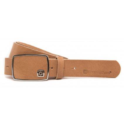 Horsefeathers pásek Fred belt tobacco 18/19