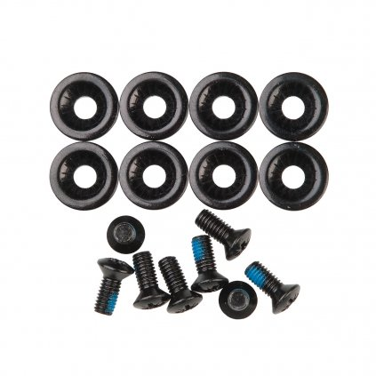 nitro insert screws and washers black 2