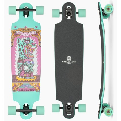Landyachtz Drop Cat 38 Illuminacion Longboards